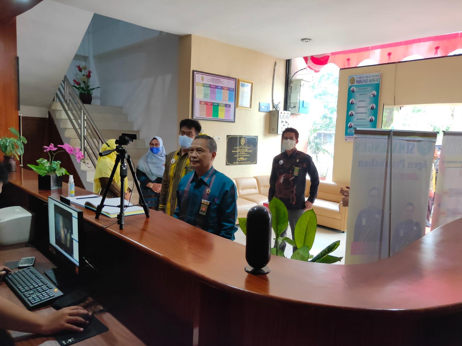 Kunjungan Kerja Wakil Ketua PTA Medan Sekaligus Pembinaan di Pengadilan Agama Simalungun I (21/9)